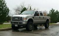 Lifted Ford F250 XLT Super Duty