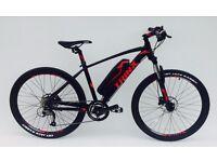 """NEW Electric mountain bike 26"""" wheels Panasonic battery 27 shimano gears"""