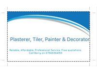 Master Plaster - Plastering, Tiling, Painting & Decorating