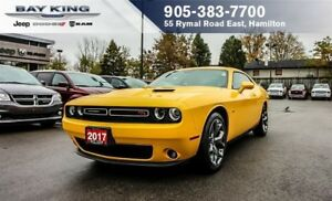 2017 Dodge Challenger R/T, MANUAL, BLUETOOTH, BACKUP CAM, LEATHE