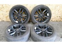 MINI 5-STAR DOUBLE SPOKE ALLOY RIMS