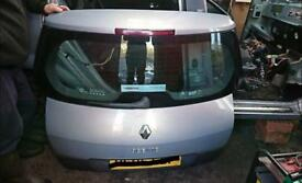 Renault scenic tailgate