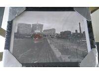 Lovely wall picture liverpool docked ship £7