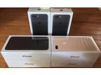 APPLE IPHONE 7 256GB UNLOCKED JET BLACK BRAND NEW BOXED 12 MONTH APPLE WARRANTY & SHOP RECEIPT