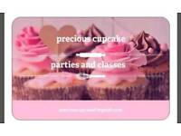 Precious cupcake parties and classes