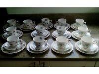 Vintage China Teacups & Plates