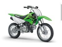 Motorbike Kawasaki KLX110 2021 model CASH ONLY