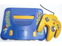 pokemon limited edition nintendo 64 very rare