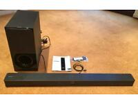 SONY SOUND BAR & SUBWOOFER- brand new - no box