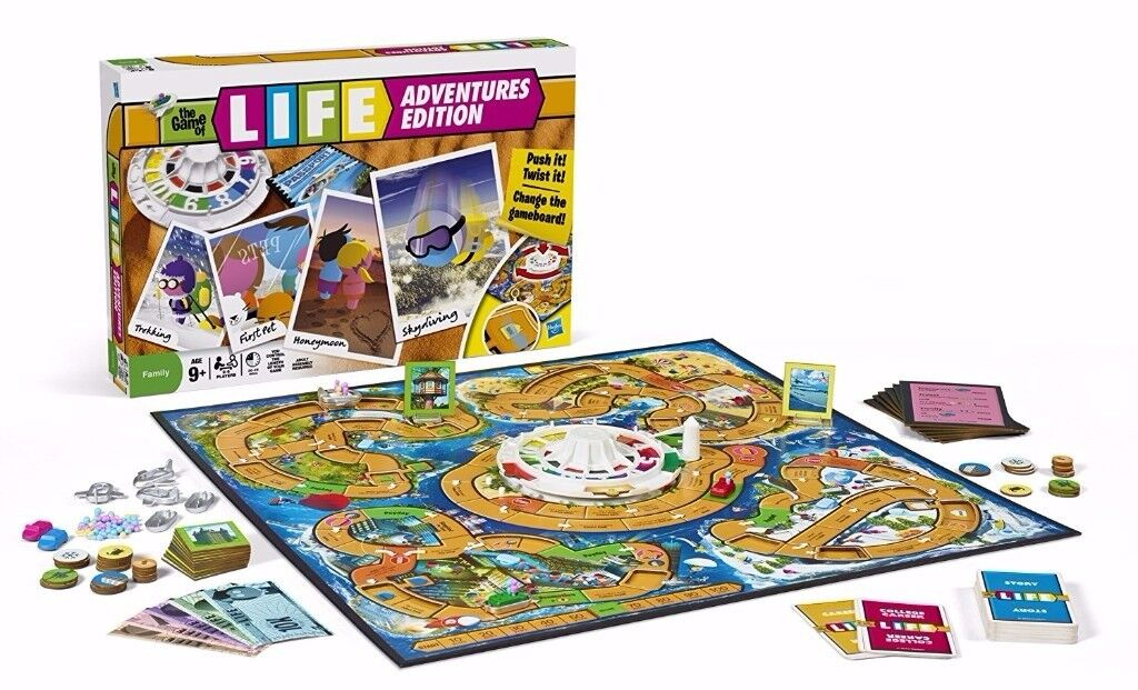 The Game Of Life Adventures Edition Excellent Condition