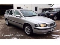 NOW REDUCED! VOLVO V70 2.4 TORSLANDER 7 SEATER ESTATE CAR, 11 STAMP SERV HIST, MOT MAR 2018 7 SEATER