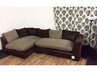 Nee dfs madison corner sofa FREE DELIVERY