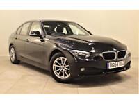 BMW 3 SERIES 2.0 320D EFFICIENTDYNAMICS BUSINESS 4d 161 BHP + 1 (black) 2014