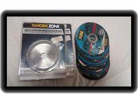 Grinding discs stone/metal/wood /plastic x 12