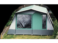Cabanon Estelle E425 6 berth canvas frame tent.