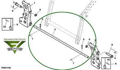 John Deere 4120 4320 4520 4720 Loader Equalizer Link Pin Aw32737 Wend Pins New