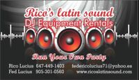 Speakers rental ( run your own party)