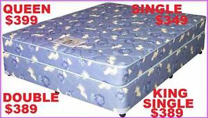 NEW QUEEN BED MATTRESS AND BED ALL SIZES. RENT KEEP $5.90PW Ipswich Region Preview