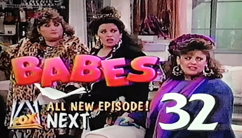 Babes / Simpsons VHS Sold As Blank Commercials 1990 Prerecorded Rare Tv Shows