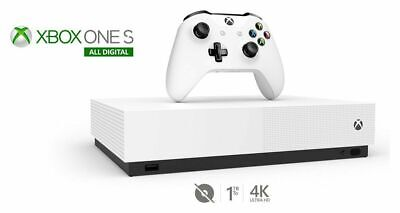 Brand new Xbox One S All Digital Edition & 3 Game Console Bundle - White