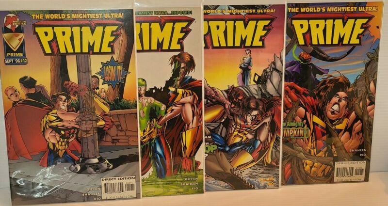 Malibu Comics - Prime #12 - 15 (1996)