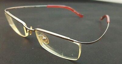 NEW YORK DIARY Designer Eyeglass Frames Hingeless NE 1031 49 []19 137mm