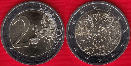 "Germany 2 euro 2019 ""Fall of the Berlin Wall"" Random mint BiMetallic UNC"