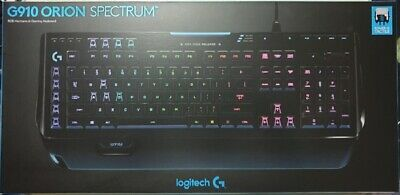 Orion Spectrum G910 Wired Gaming Mechanical Romer-G Switch Keyboard - LOGITECH