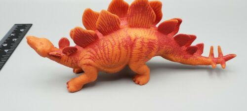 Squishy Soft Rubber Jiggly EPS Bead Stegosaurus Dinosaur 8  - $9.50