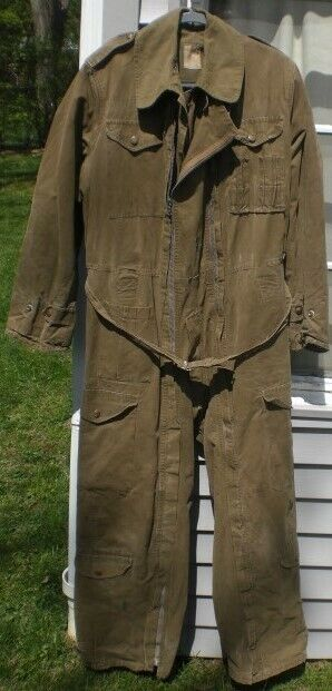 Pixie Suit  Post WW2 French copy of WW2 British tank crewman