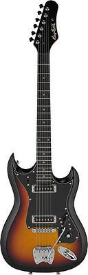 Gebraucht, Hagstrom Retroscape H-II  orig. Tremar E-Gitarre 3-Tone Sunburst, Demoteil  gebraucht kaufen  Limburg