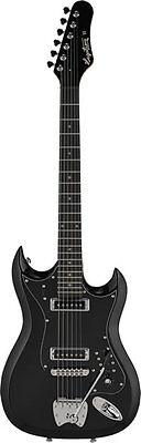 Hagstrom Retroscape H-II  orig. Tremar E-Gitarre Black Gloss, Demoteil  gebraucht kaufen  Limburg