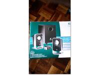 Logitech Ls21 2.1 stereo speaker system £ 15 new, used ones