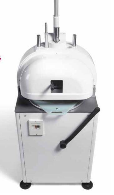 MANUAL SEMI AUTOMATIC DOUGH DIVIDER ROUNDER FOR BAKERIES AND PIZZA MADE IN ITALY