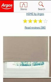 Argos Thermal Blackout blind colour Mocha