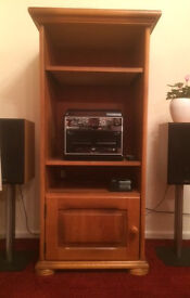 STEREO SYSTEM CABINET - TEAK