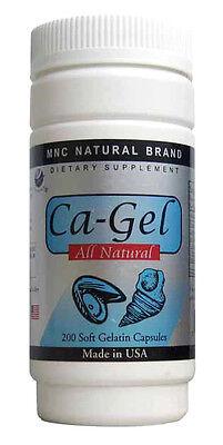 Calcium Liquid Softgel (Ca-Gel Liquid Calcium  液體鈣 200 soft capsule / bottle)