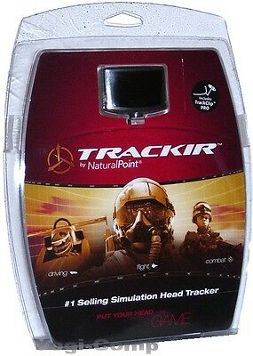 TrackIR 5 Pro & TrackClip Pro Optical Track System NEW