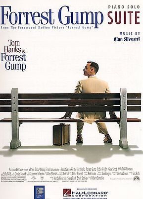 Forrest Gump Suite Sheet Music Piano Solo NEW A Silvestri 000292074 - Forrest Gump Suit