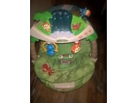 FISHERPRICE AMAZON RAINFOREST VIBRATING BABY CHAIR