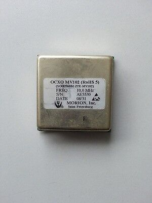 Used Mv102 10mhz Morion Ocxo Ultra Precision