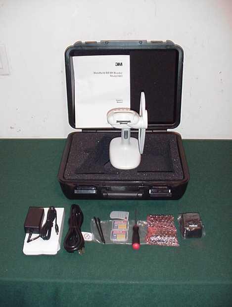3M Handheld RFID Digital READER SCANNER Digital Library Assistant DLA Model 803