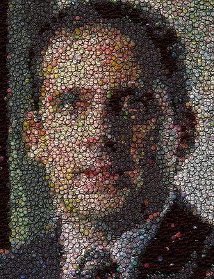 Amazing The Office Michael Scott Bottlecap mosaic print
