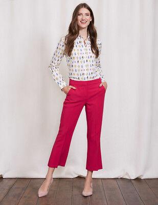 Boden Hose - Hampshire Crop Flare Trousers - Stretch Elegant - NEU - UK 14 EU 42 - Stretch Crop Hose