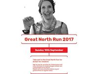 GREAT NORTH RUN - charity places with Action for Children!