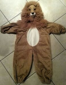 Child Lion Costumes - size 3/4 and 4/6X