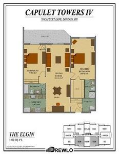 70 Capulet Lane two bedroom apartment (Master room/whole suite)