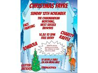 CHRISTMAS CRAFT FAYRE WITH SANTA & CLAIRVOYANCE
