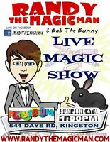 Special Guest at Playtrium....Randy The Magic Man
