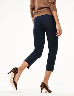 Boden Hose - Bistro Crop Trousers - Damenhose Schwarz Stretch NEU - UK 6 EU 34 - Stretch Crop Hose
